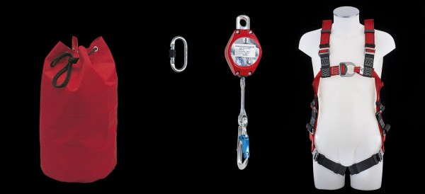 Sicherheitsset MAS 33 für Hubbühnen Höhensicherungsgerät