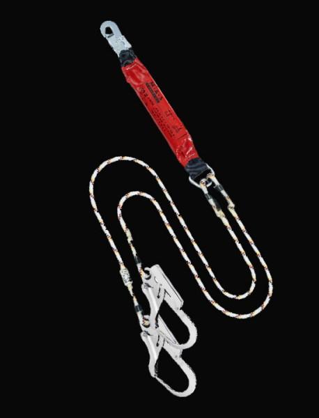 MAS Bandfalldämpfer-Verbindungsmittel TWIN Kenmantelseil 12mm XXL