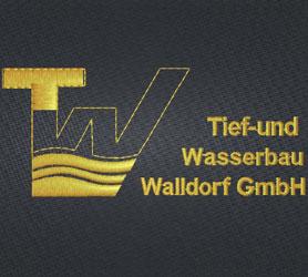 Tief- und Wasserbau Walldorf GmbH Logo